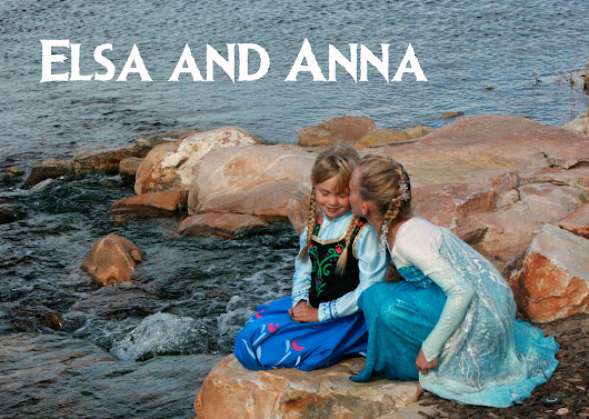 Elsa and Anna: Sisters Don't Get Much Cuter Than This