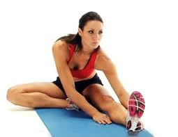sweat cardio and yoga stretches for runners and other