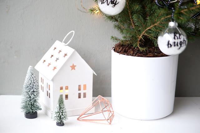 Weihnachtsdeko Kupfer