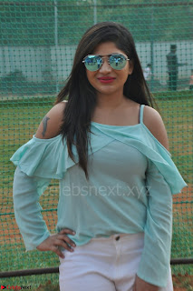 Madhulagna Das looks super cute in White Shorts and Transparent Top 38.JPG