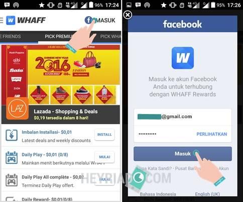 Whaff Reward Untuk Mendapatkan Kartu Hadiah Kode Smule Gratis