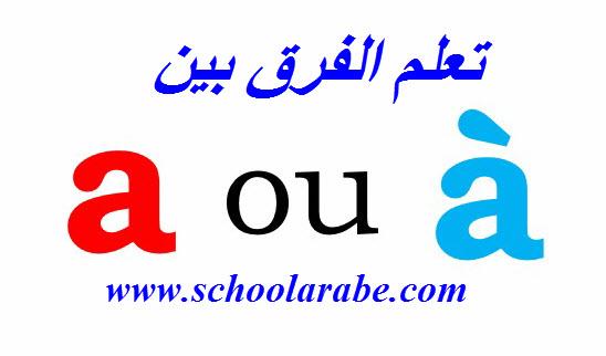 الدرس 9 من دورة تعلم اللغة الفرنسية للمبتدئين تعرف على الفرق بين a و à