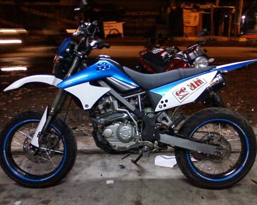 Top modifikasi motor klx
