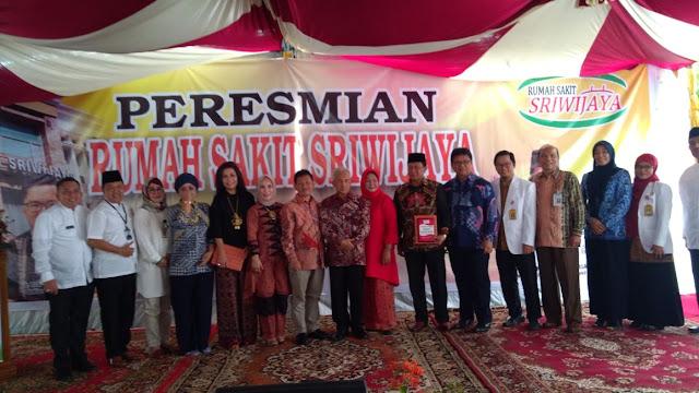 RS Sriwijaya Resmi Beroperasi