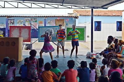 Casa Lar Maria de Nazaré recebeu a primeira apresentação do Dancidade
