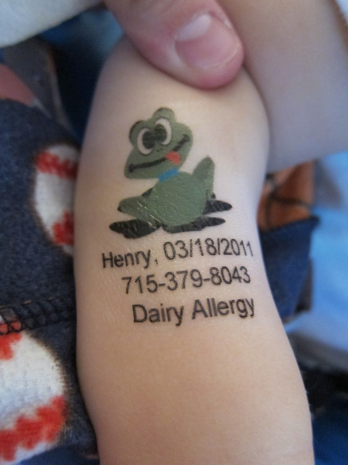 Stick To Kids Temporary Tattoos Review And Giveaway