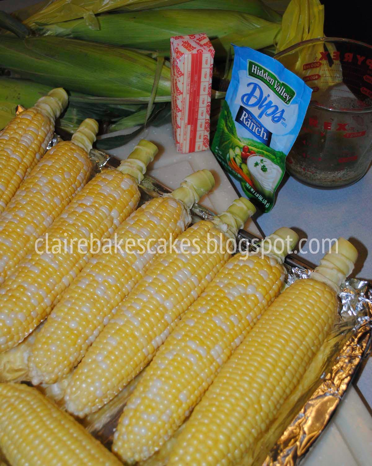 My Life As A Mom Oven Roasted Ranch Corn On The Cob Recipe