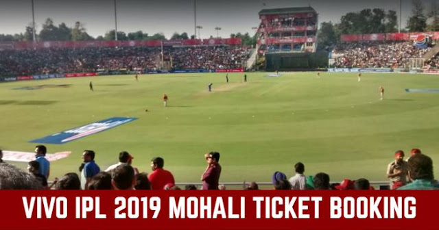 VIVO IPL 2019 IS Bindra Stadium, Mohali Ticket Booking: Cost and Price List
