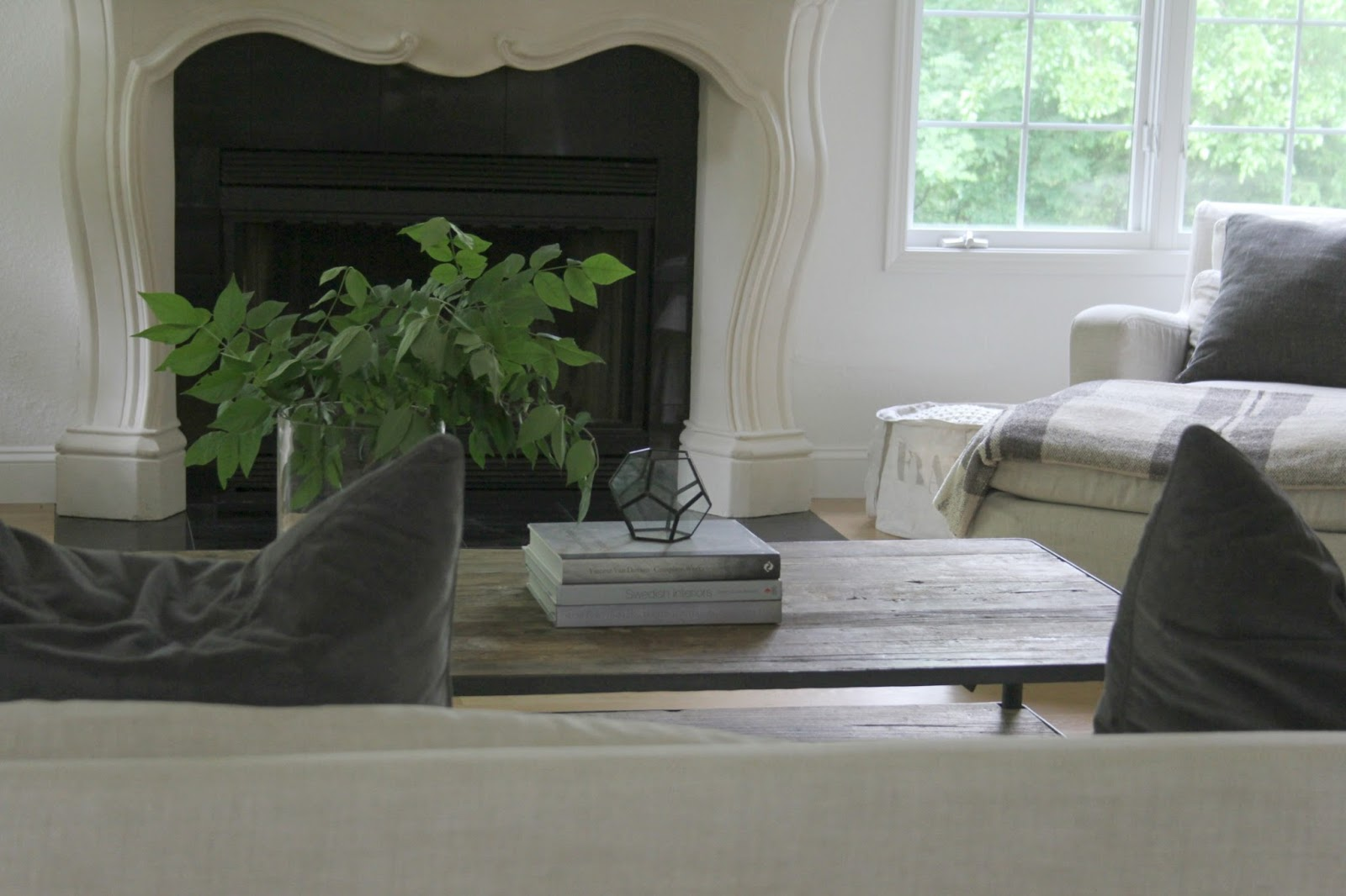 Come tour my home and consider inexpensive approaches to simple decor on Hello Lovely Studio.