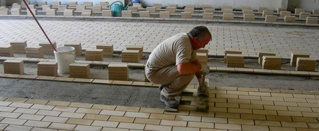 El maestro de obras xavier valderas hacer suelos pavimentos - Suelos de plaqueta ...