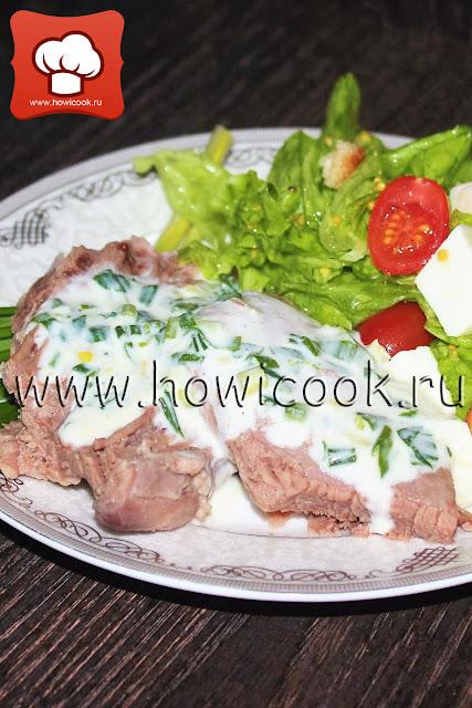 рецепт приготовления вкусного мяса с соусом