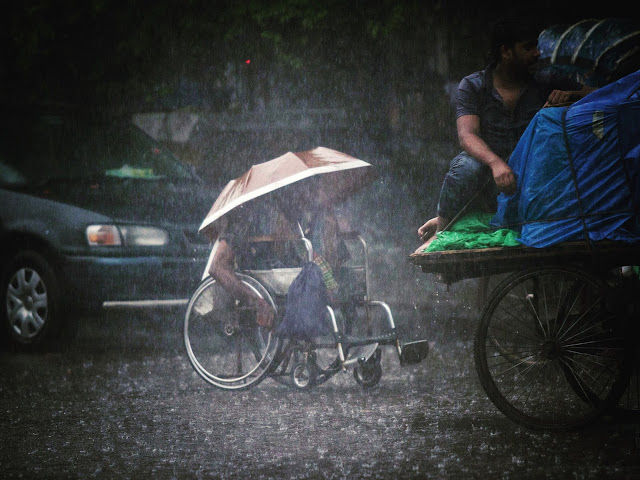 Heavy Rain In Bangladesh