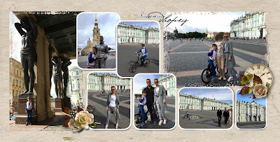 фотокнига путешествие в санкт петербург