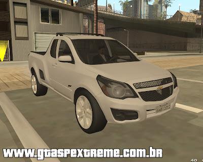 Chevrolet Montana Sport 2011 para grand theft auto