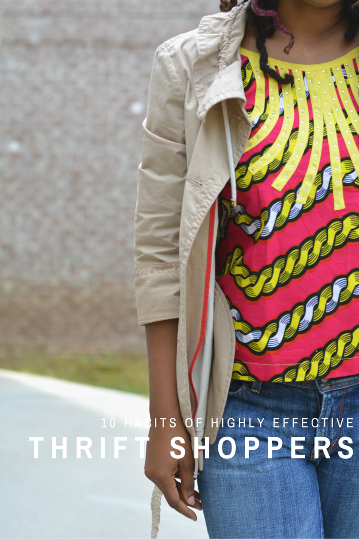 habits of highly effective thrift shoppers
