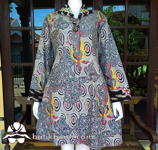 Tunik Batik Lawasan Motif Peksi