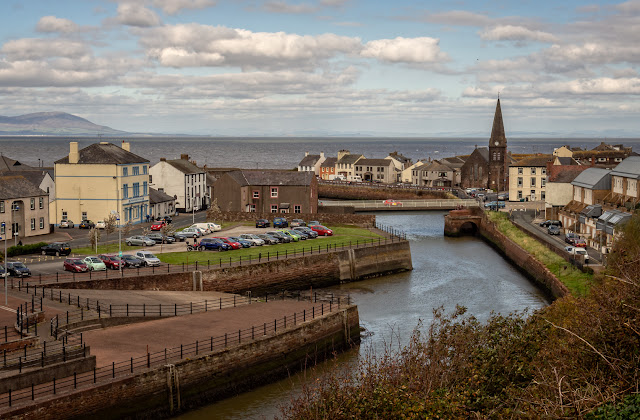 Photo of River Ellen, Maryport, from Mote Hill