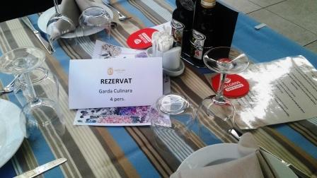 masă rezervată