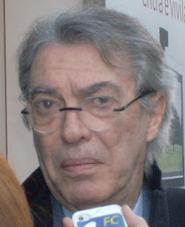 Massimo Moratti followed his father, Angelo, in becoming chairman of Internazionale of Milan