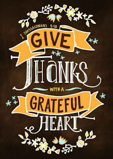 Give thanks with a grateful heart 1 Thessalonians 5:18