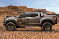 Chevrolet Colorado ZH2 Concept Crew Cab (2016 North American Spec) Side