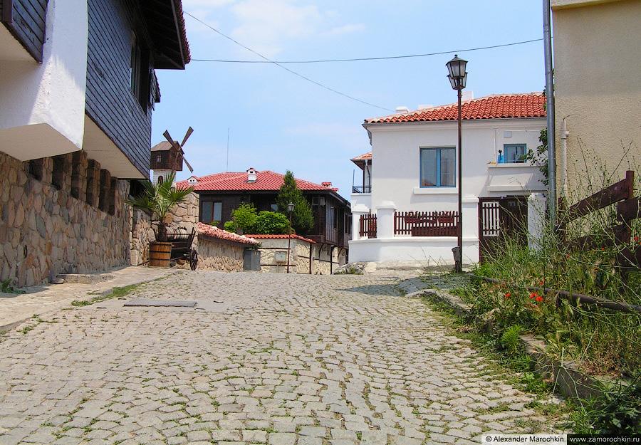 Улицы Созополя (Болгария)   The Streets of Sozopol (Bulgaria)