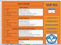 Aplikasi SKP 2019 Format Excel Terbaru