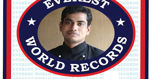 Chef Raj Mohan entered into Everest World Records