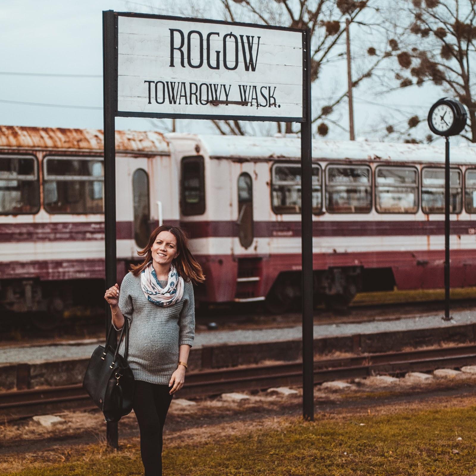 Stacja Kolejki wąskotorowej Rogów - stylebylena