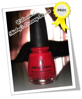 bellabox china glaze nail polish giveaway
