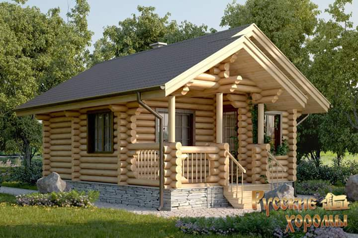 beautiful simple wood house and log house design