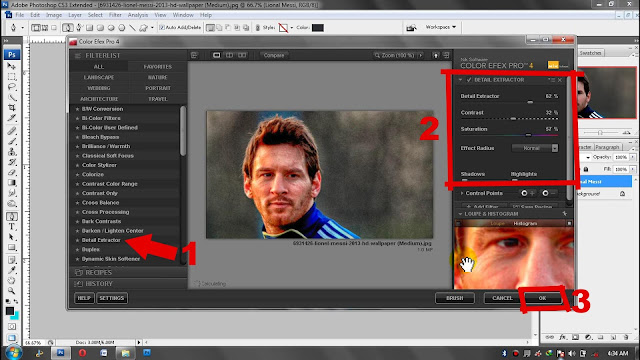 Tutorial Soft Smudge 3D dengan Photoshop