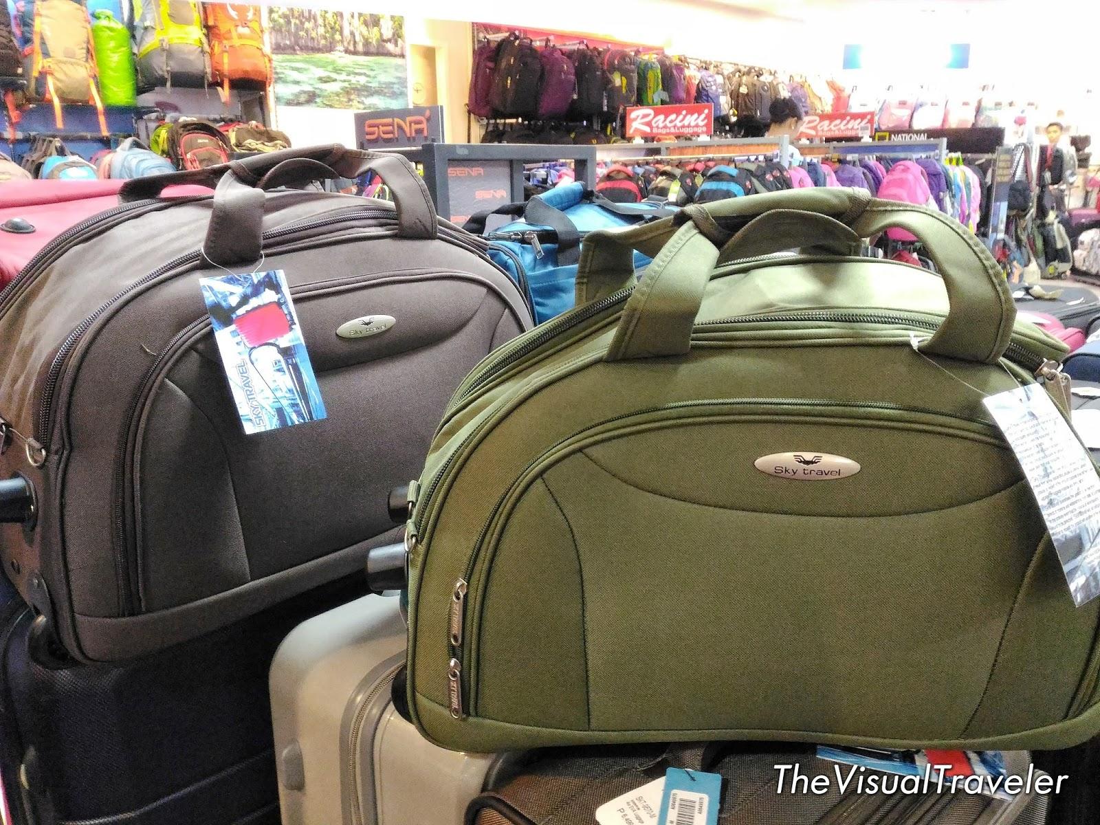 World Traveler Luggage Vintage