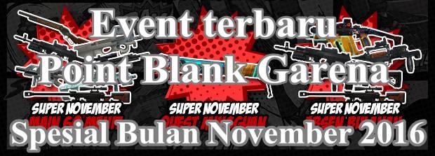 Event PB Garena 1 November 2016 Dapatkan Kriss S.V PBIC 2016 Gratis