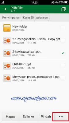 Cara kirim file lewat messenger