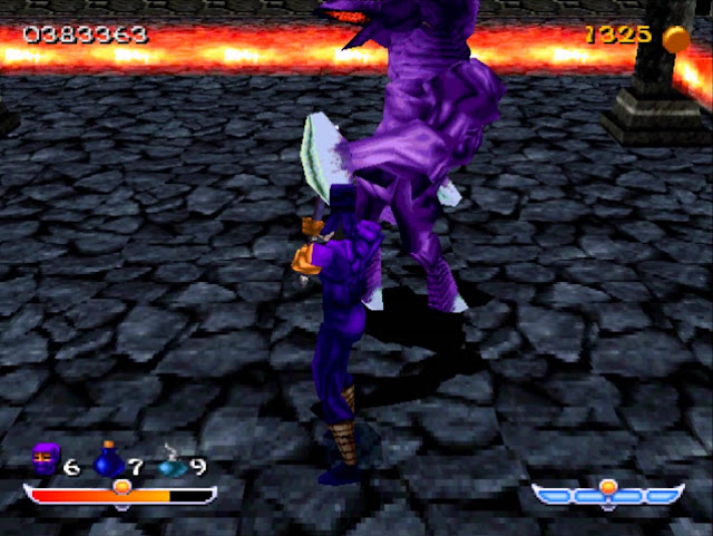 Ninja - Shadow of Darkness - PSX - Captura 4