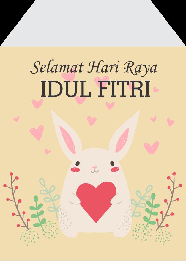 Selamat Hari Raya Idul Fitri Cdr : selamat, fitri, Template, Amplop, Lebaran, Ukuran, Kecil, Gratis, Mendesain