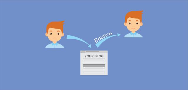 Pengertian dan efek bounce rate pada blog/website