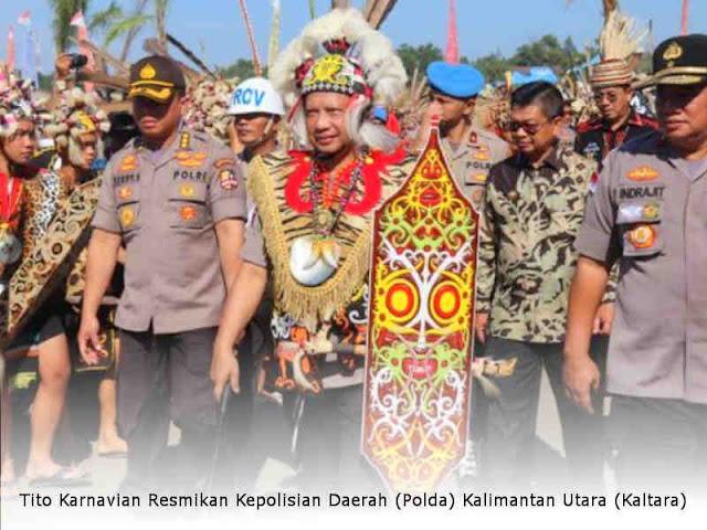 Tito Karnavian Resmikan Kepolisian Daerah (Polda) Kalimantan Utara (Kaltara)