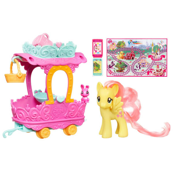 Original Series Pinkie Pie S Rc Car Brushables: My Little Pony Fluttershy Train Car Fluttershy Brushable