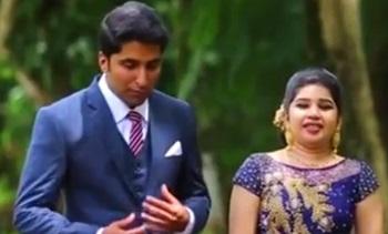 Kishore with Shruthi Wedding Highlights
