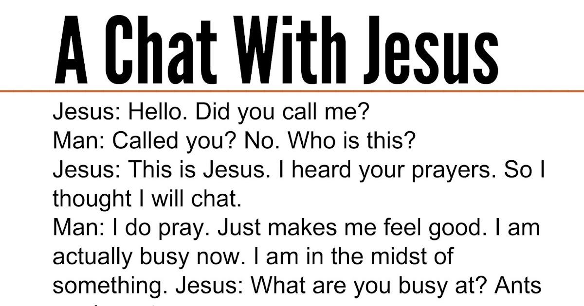 chat on jesus christ