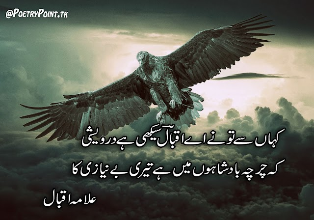 Kaha Se To Ne Ae Iqbal Sekhi Hain Derweshi // Allama Muhammad Iqbal Motivational poetry