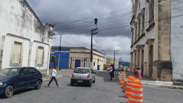 Mudanças no trânsito de Goiana passaram a valer na segunda-feira (26/11)