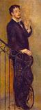 Man on a Stair by Pierre-Auguste Renoir - Genre Paintings from Hermitage Museum