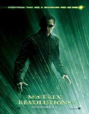 The Matrix Revolutions 2003 Hindi Dual Audio 600MB BluRay 720p ESubs HEVC