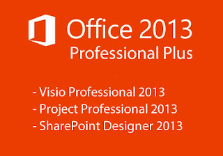 Microsoft Office 2013 VL ProPlus Visio Project Update Februari 2017 Full Version