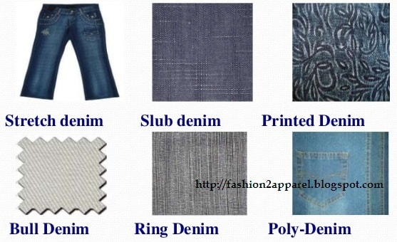Types of denim fabric