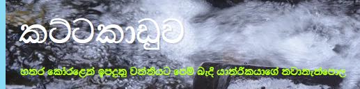 Image result for kattakaduwa blog