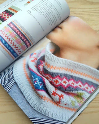 Fair Isle Cowl, via SEWN Sewing Blog